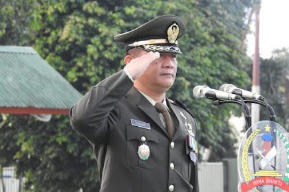 Korem 162/WB Gelar Upacara Peringatan HUT ke 74 Kemerdekaan RI : Bagi TNI Angkatan Darat, Kemerdekaan adalah Refleksi dari Kedaulatan Bangsa yang Dijamin dan Dijaga oleh Para Pengawalnya