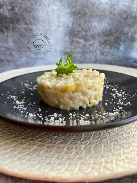 Risotto aux poireaux et au parmesan - végétarien - Repas joker - Recette facile - IG bas - Cookeo