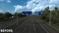 ets 2 realistic signs v1.1 screenshots 9