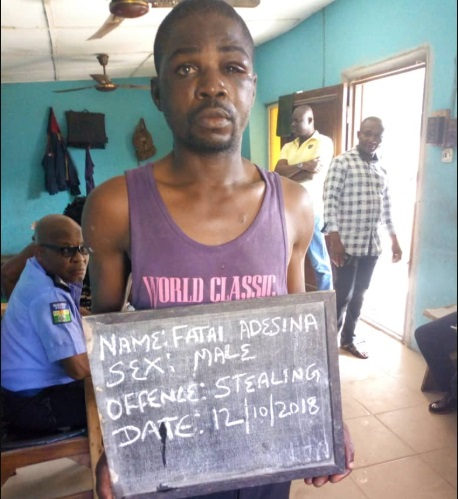 Notorious Lagos Robber Nabbed By Police During Operation