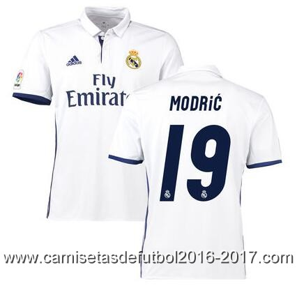 Camiseta Real Madrid Modrić