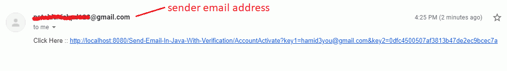 send activate link to member account