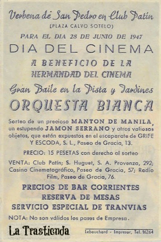 Programa de Cine - Retorno al Abismo - Humphrey Bogart - Alexis Smith