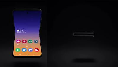 شركة سامسونج تستعرض شكل جديد للهاتف الذكي المستقبلي القابل للطئ