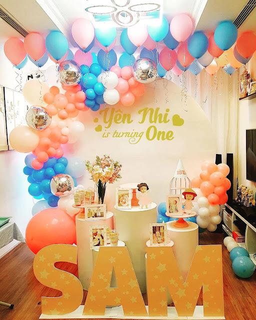Trang trí sinh nhật cho bé tại nhà Hà Nội