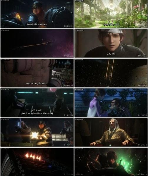 فيلم الانيمشن Space Pirate Captain Harlock مترجمه للعربية بجودات متعدده