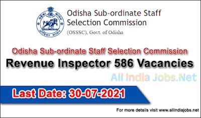 OSSSC-Recruitment-Revenue-Inspector-Vacancies-Apply-Onine-allindiajobs.net