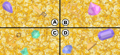 Alt 1 Q 10. LOOK AT ALL THIS GOLD! BUT ALL WE CARE ABOUT IS THE GOLDEN APPLE! WHERE IS IT HIDING?