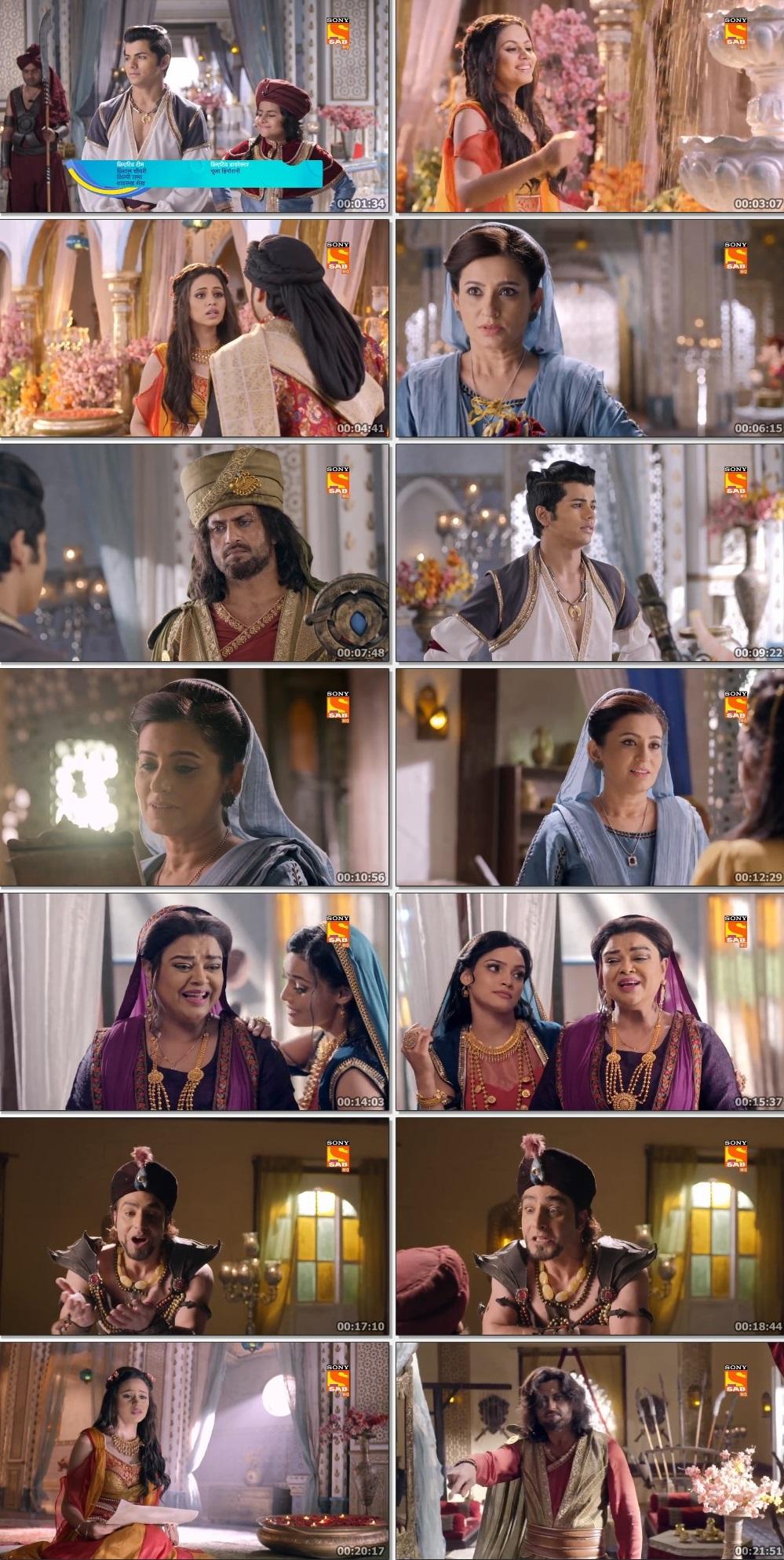 Screenshots Of Hindi Show Aladdin – Naam Toh Suna Hoga 2019 Episode 252 300MB 720P HD