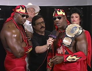 WCW HALLOWEEN HAVOC 96 REVIEW: Harlem Heat lost the WCW tag titles to The Outsiders