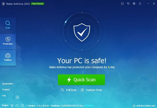 تحميل برنامج بايدو انتي فيروس للكمبيوتر 2015 Baidu Antivirus