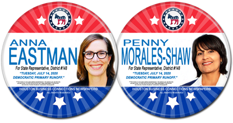 State Rep. Anna Eastman and Penny Shaw are the Democratic Runoff Candidates for HD - 148