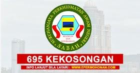Suruhanjaya Perkhidmatan Awam Negeri Sabah (SPANS) Buka 695 Kekosongan Jawatan Terkini ~ Minima PMR/PT3 Layak Memohon!