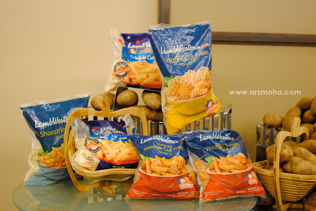 us potatoes product, us potatoes, produk us potatoes, hidangan berasaskan ubi kentang, ubi kentang,