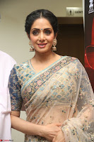 Sri Devi in designer saree stunning beauty at the launch of MOM movie Trailer~  Exclusive 146.JPG