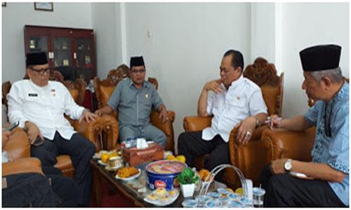 Anggota DPD RI H Herman Darnel Ibrahim kunjungi DPRD Tanah Datar