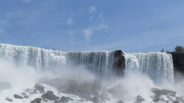 The Niagara Falls - because no words can describe it any better