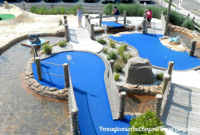 StarLux Mini Golf in Wildwood, New Jersey
