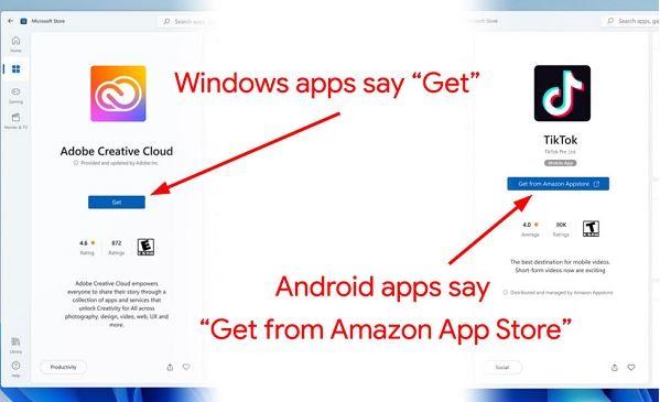كيفية تشغيل تطبيقات اندرويد في ويندوز 11