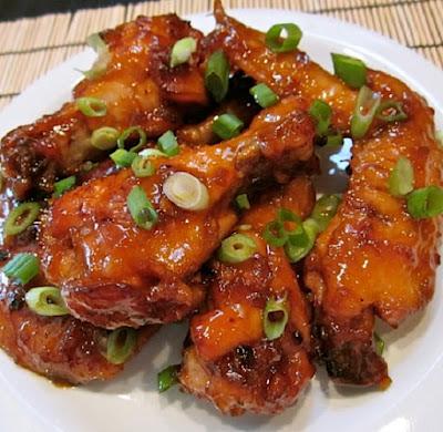slow cooker oriental chicken wings