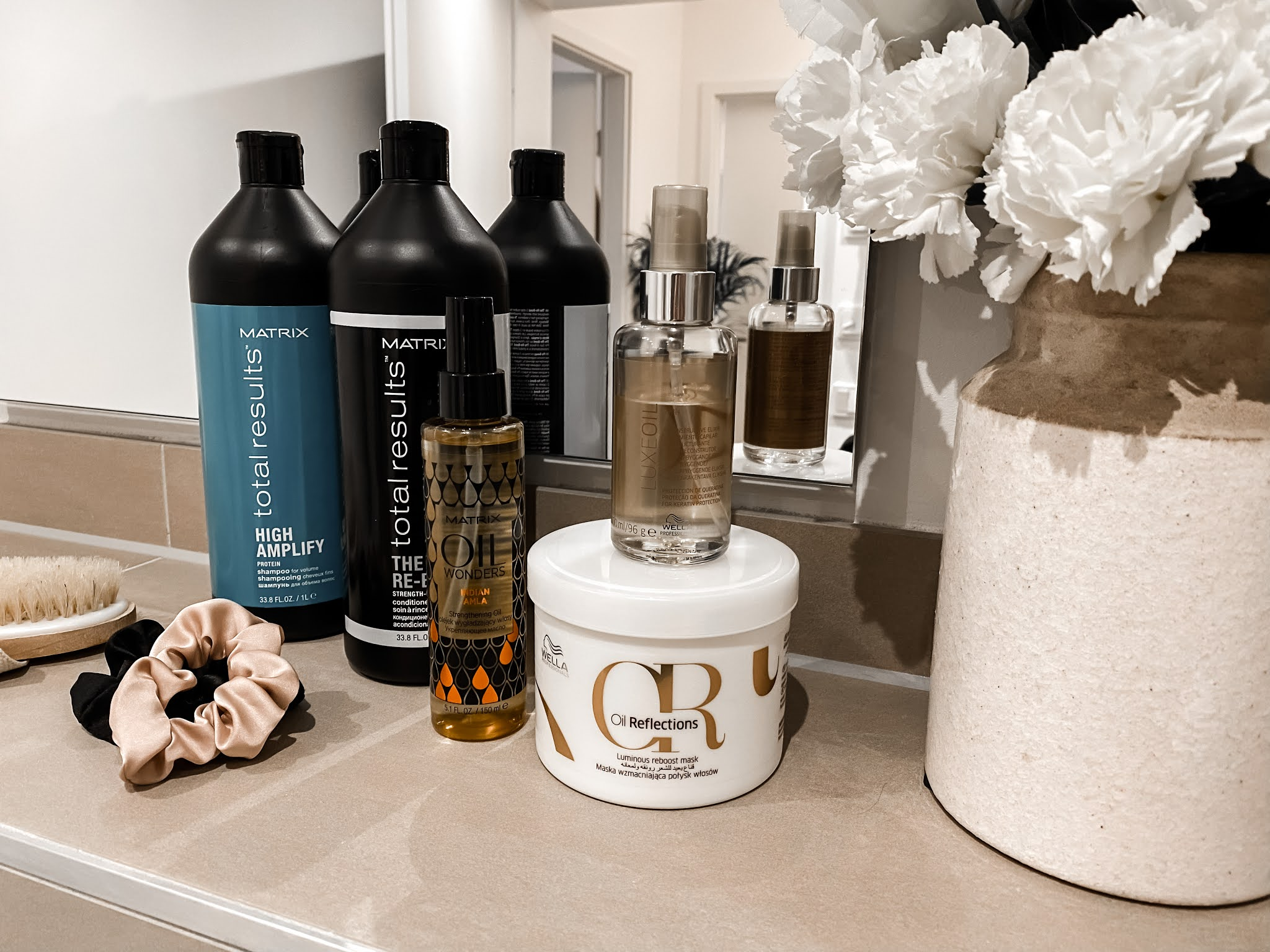 Winter Haircare Products Routine
