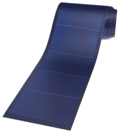Going Green With Reuben Flexible Solar Panel 136 Watt 24