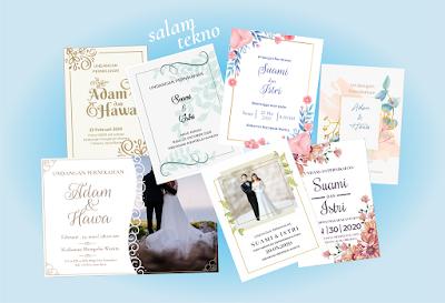 contoh undangan pernikahan sederhana