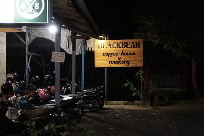 Kedai kopi Blackbean Coffee House and Roastery Jepara