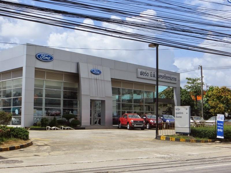 Автосалон Форд в Таиланде