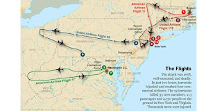 Giây phút của cuộc tấn công ngày 11 tháng 9 năm 2001, 4 máy bay giết gần 3.000 người