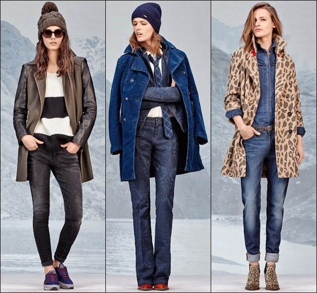 Fashion Fall-Winter 2014-2015. Women's jackets