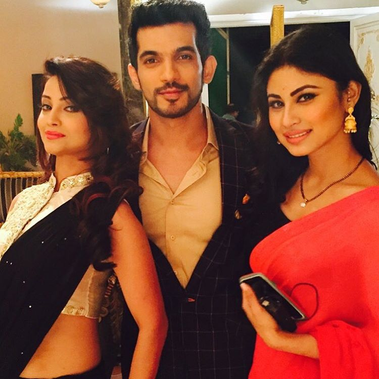 Mouni Roy, Adaa Khan and Arjun Bijlani