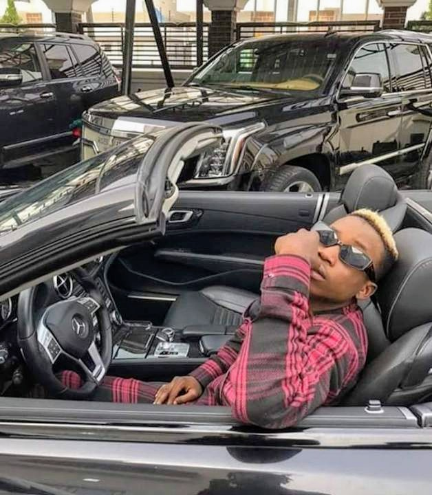 News:-Davido bought Lil frosh a brown new car