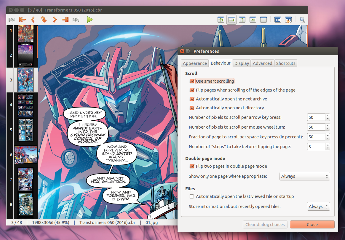 MComix Is A Great Linux Comic Book Reader (Latest Version