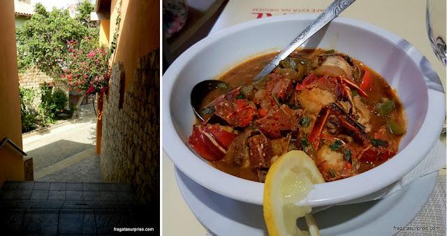Condomínio para turismo na Ilha do Sal e a Lagosta Suada, prato típico local
