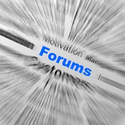 """Forums Sphere Definition Displays Online Discussion Or Global Co…"" by Stuart Miles"