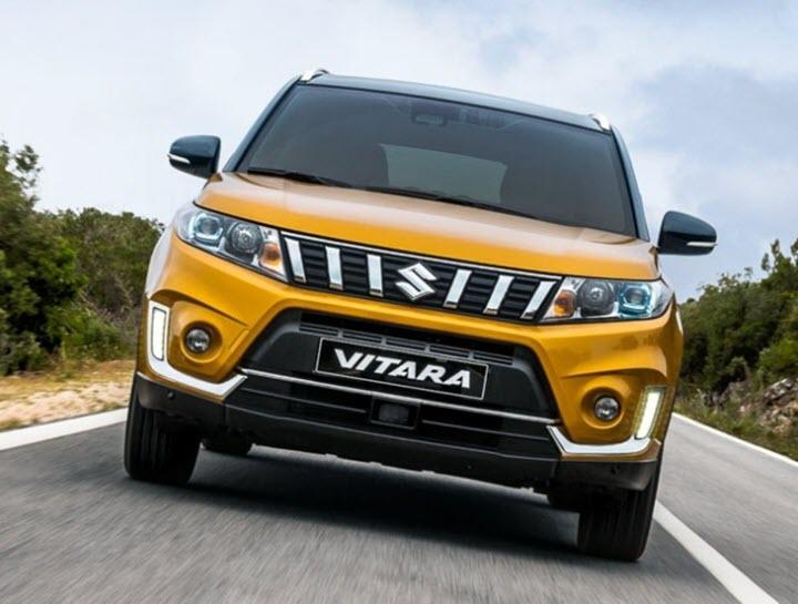 Suzuki Vitara thách thức Hyundai Kona, Honda HR-V với vẻ ngoài siêu hầm hố