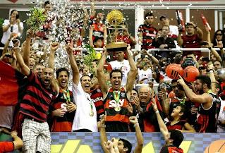 CR Flamengo Bicampeão Brasileiro Masculino de Basquetebol de 2012/13/2013/14