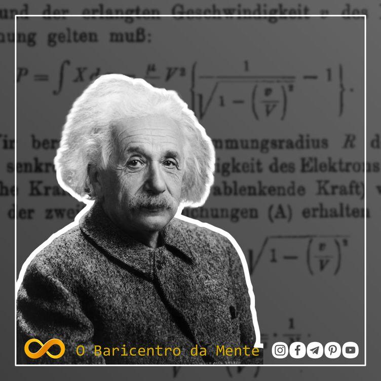 Em 26 de setembro de 1905, Einstein apresentava ao mundo a teoria da relatividade restrita