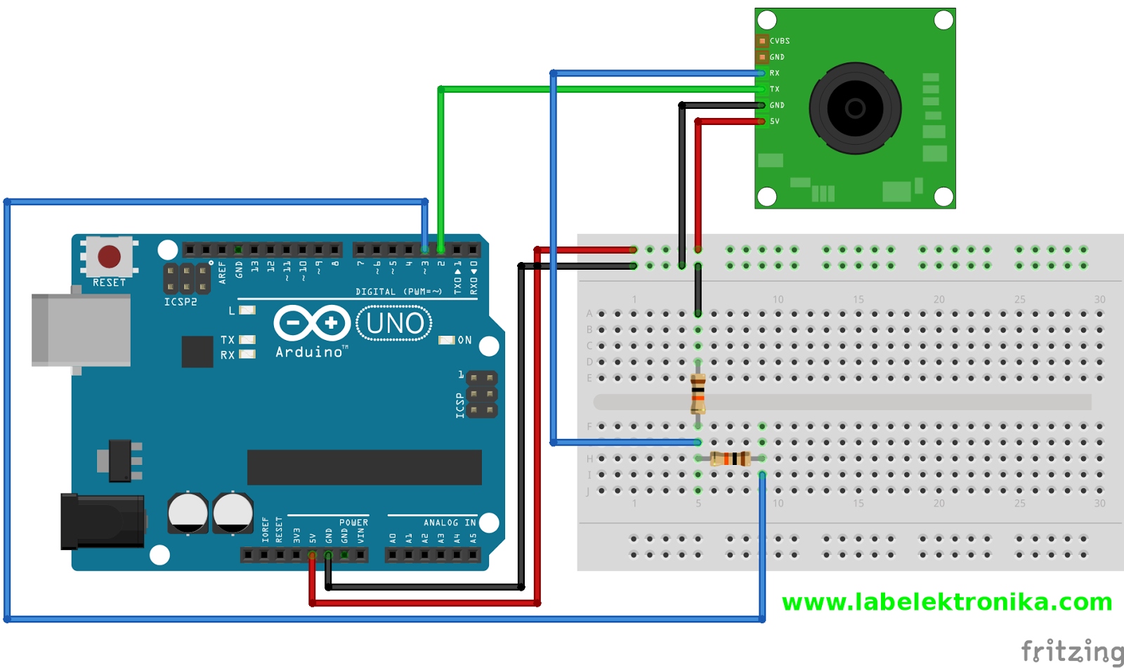 Excellent Cara Program Camera Serial Vc0706 Dengan Menggunakan Arduino Lab Wiring Cloud Hisonuggs Outletorg