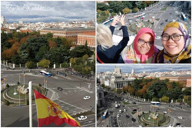 Bersama Farah di CentroCentro Madrid