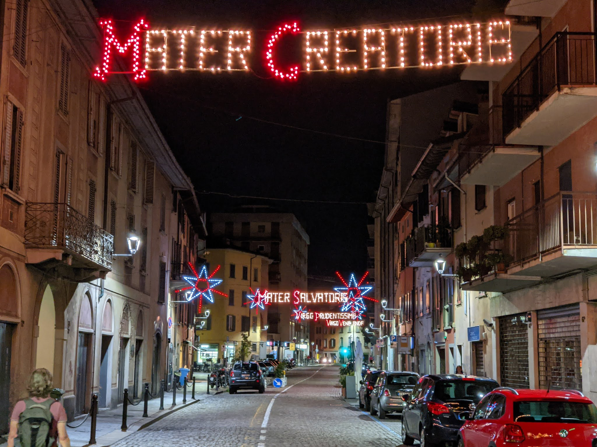 Santa Caterina Bergamo - Festa dell'Apparizione - Mater Creatoris