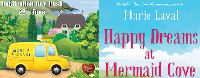Happy Dreams at Mermaid Cove by Marie Laval blog tour banner