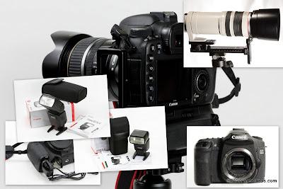 Digital Cameras submenu page