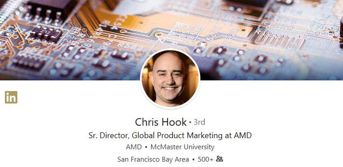 Direktor Chris Hook  Meninggalkan AMD