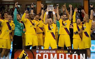 BALONMANO - Por 22ª ocasión el Barcelona levanta la Supercopa de España