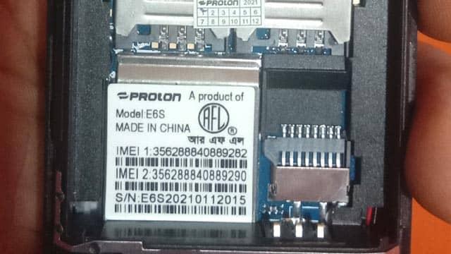 Proton E6S Flash File 6531E Official Firmware 100% Tested