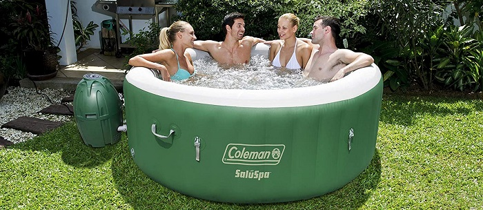 Coleman SaluSpa - Best Inflatable Hot Tub Spa