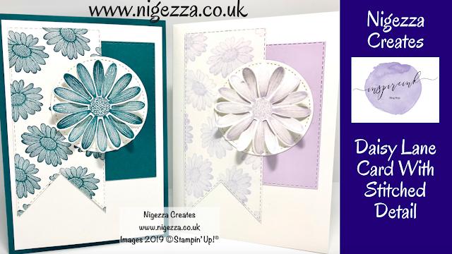 Nigezza Creates, Stampin' Up! Daisy Lane card, InspireINK Blog Hop