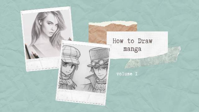 Tutorial menggambar manga